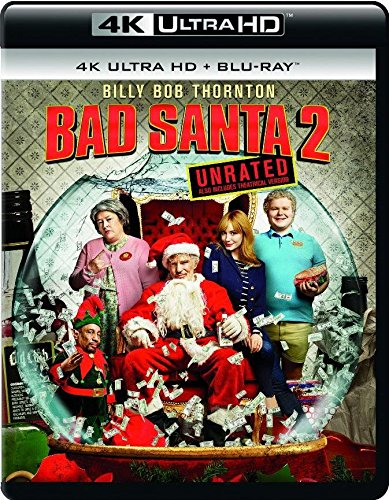 4K Blu-ray : Bad Santa 2 (, Dubbed, Widescreen)