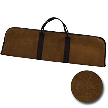 807e41c0fb2a1 elToro Tasche aus Echtem Leder - Velour - Farbe  Kaffee  Amazon.de ...