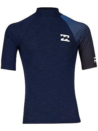 BILLABONG Contrast SS Printed Camiseta de natación, Hombre: Amazon ...