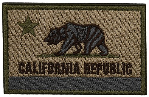 ArcEnCiel Tactical Patch California Coyote