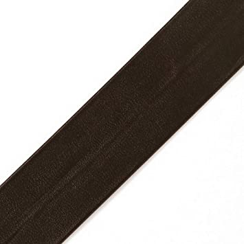1 Fold Over polyurethan Faux Leather Trim TR-12191 4-Yards 25mm Beige