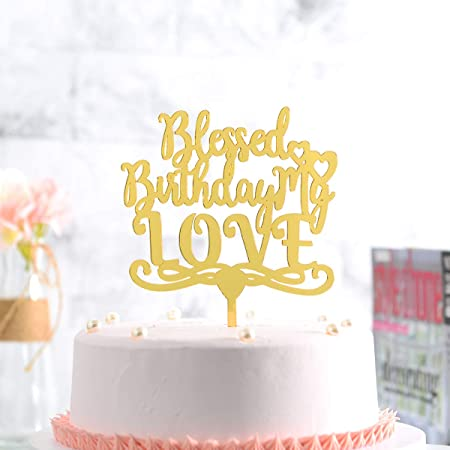 Gold 70th Birthday Numeral Candle Number 70 Cake Topper Candles Party Decoration for Women or Men