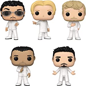 Funko Pop! Rocks Bundle of 5: Backstreet Boys - Nick Carter, Brian Littrell, Kevin Richardson, AJ McLean and Howie Dorough