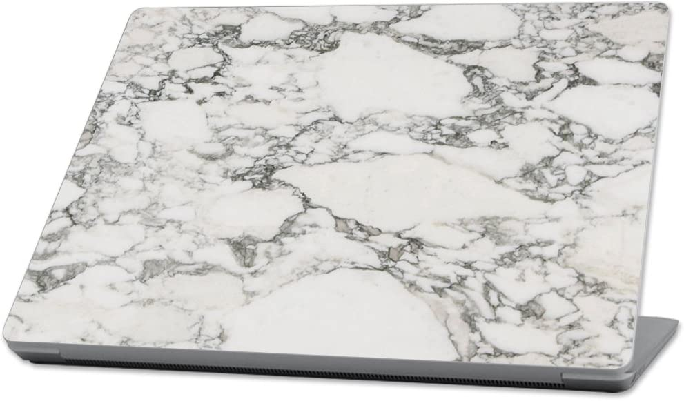"""Mightyskins Skin Compatible With Microsoft Surface Laptop (2017) 13.3"""" - White Marble 