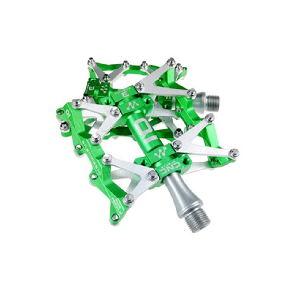Bicycle pedal,Aluminum pedal,Bearing pedal,Easy to install pedal,Large pedal,Lightweight pedal,bmx pedal,fixed gear bicycle,CNC bearing bicycle pedalsBicycle antiskid pedals, mountain bike, three bearing pedals, Palin, comfortable antiskid pedal, road veh
