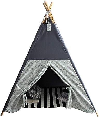 XUANLAN Carpa Infantil Inicio Tienda de campaña para niños India Tienda de campaña para niños Casa de Juegos para niños Princesa Interior Boy Toy House Triángulo Regalos para niños Durable: Amazon.es: Hogar