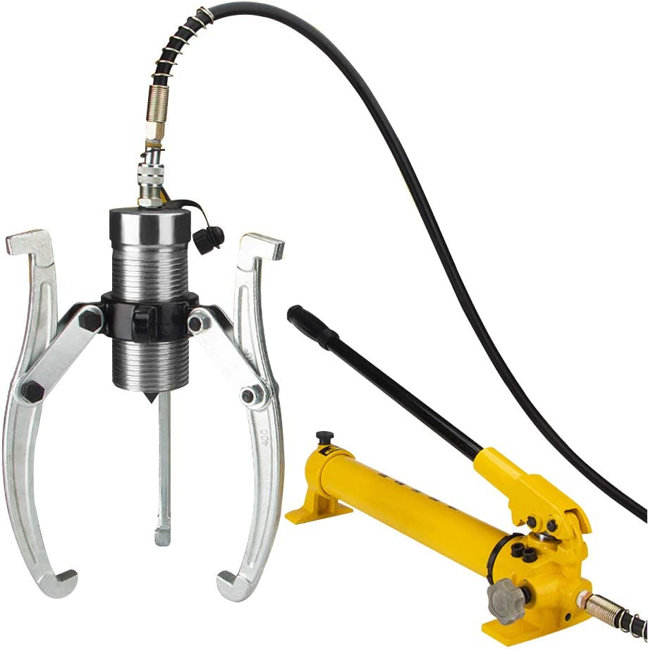 CGOLDENWALL 5T Extractor Hidráulico Separado 2 Garras / 3 Garras Kit de Puller Hydraulic Extractor de Rodamientos