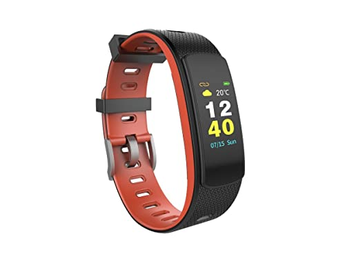 8. OMNiX™ iWOWN i6 HR-C HD Quality Fitness Tracker