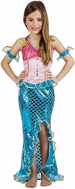 Disfraz Sirena Coral 7-9: Amazon.es: Juguetes y juegos