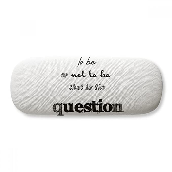 Hamlet To Be Or Not To Be Shakespeare Glasses Case