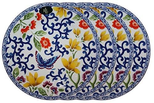 Ralph Lauren Mandarin Blue Collection 9 1/4