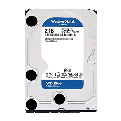 Amazon com: WD WD20EZAZ Blue 2TB 5400RPM Class SATAIII 256MB