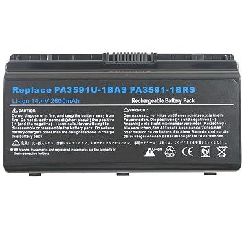Morewer(TM) Batería del ordenador portátil para Toshiba Satellite pro l40 l40-12l