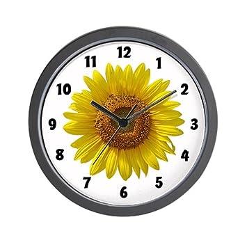 Superior Sunflower Wall Clock