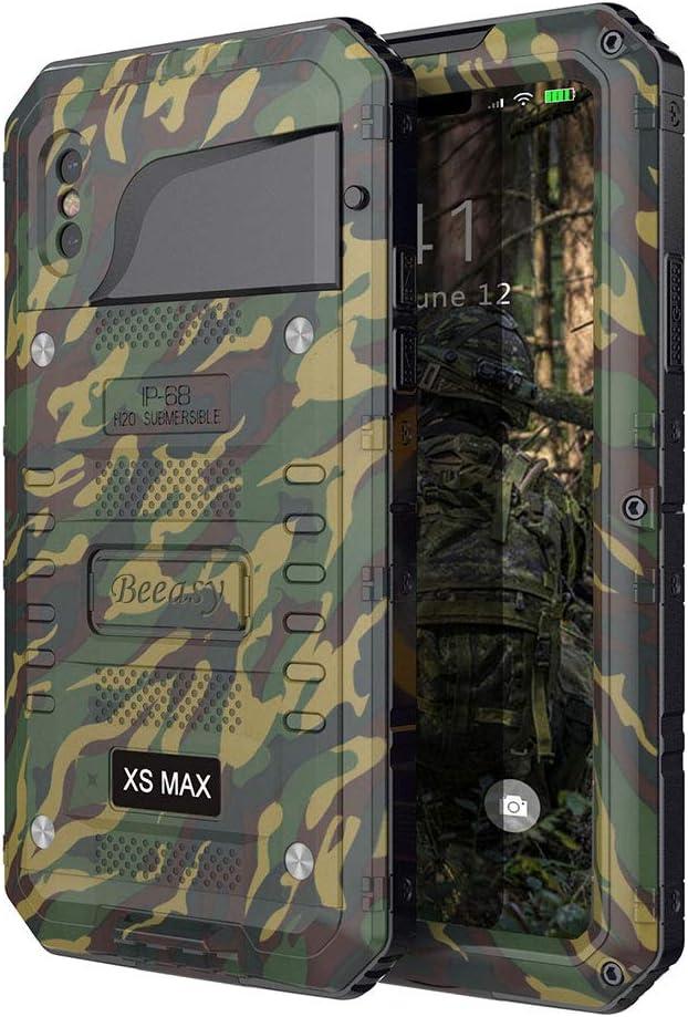 150 opinioni per Beeasy Cover per iPhone XS Max,Impermeabile Antiurto Custodia con Schermo