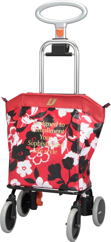 アップライン UL-0218 花柄レッド B073S1ZK1K 花柄レッド 花柄レッド
