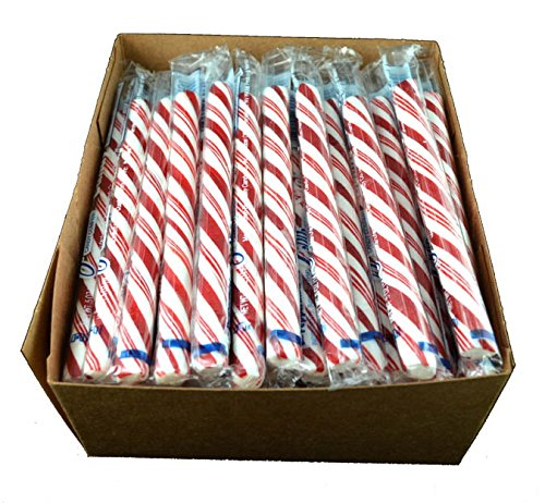 Old Fashioned Peppermint Candy Sticks - 80 / Box ()
