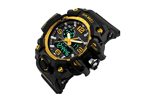 Relojes de Hombre 2018 Reloj LED Sport Water Resistant Watch Digital Men RE0105
