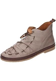 Manitu-Damen Damen-Sandalette Blau 910702-5, Grösse 42