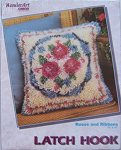 WonderArt Latch Hook Rug Kit 4019 Roses and (Floral Latch Hook)