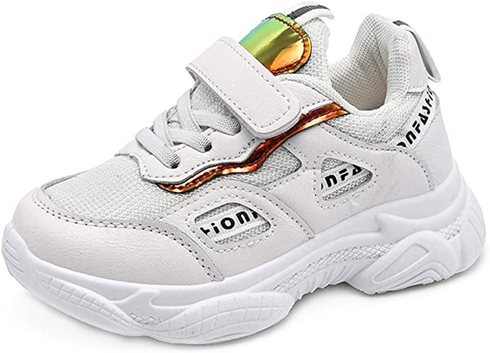 Sneakers Niños Unisex Respirable Cuero de imitación Ligero Zapatos ...
