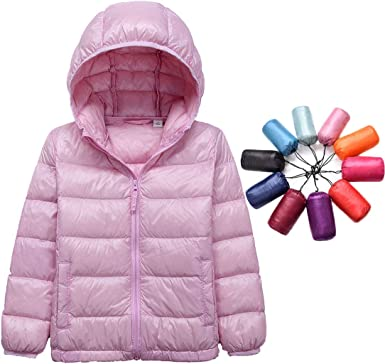 LANBAOSI Packable Down Jacket Women Lightweight Winter Jacket with Hood Bag Warm Quilted Puffer Coat