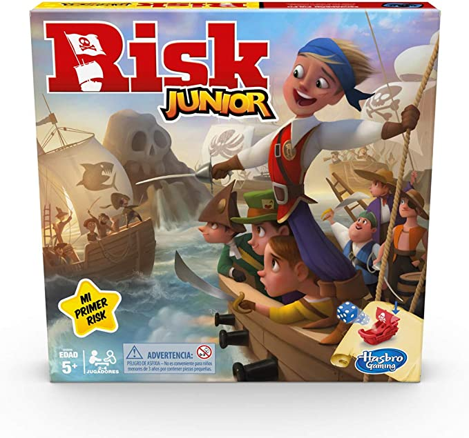 Hasbro Gaming- Risk Junior (E6936105): Amazon.es: Juguetes y juegos