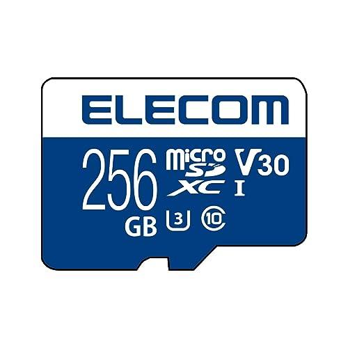 ELECOM microSDXCメモリカード(UHS-I対応) MF-MS256GU13V3R