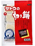 SATO NO KIRIMOCHI PARITTOSUITTO 400g rice cake