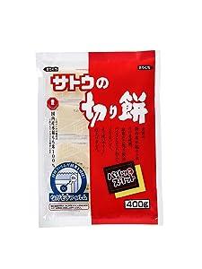 SATO NO KIRIMOCHI PARITTOSUITTO 400g rice cake (400g)