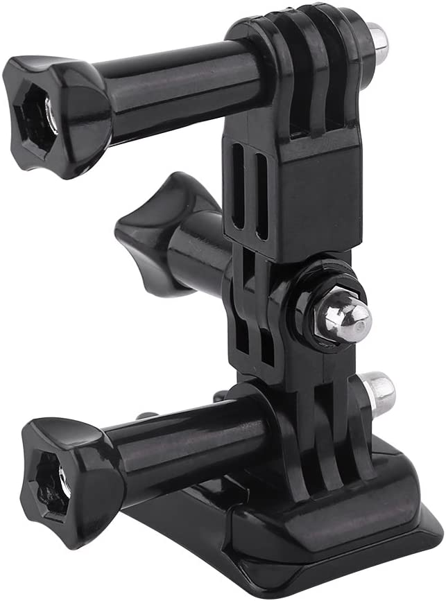 Adhesive Mount Accessory for Hero 3//2//1 Madezz Sport Camera Helmet Side Mount Kit