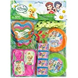 Disney Tinkerbell Assorted Birthday Party Favour Value Pack (48 Pack), Multi Color.