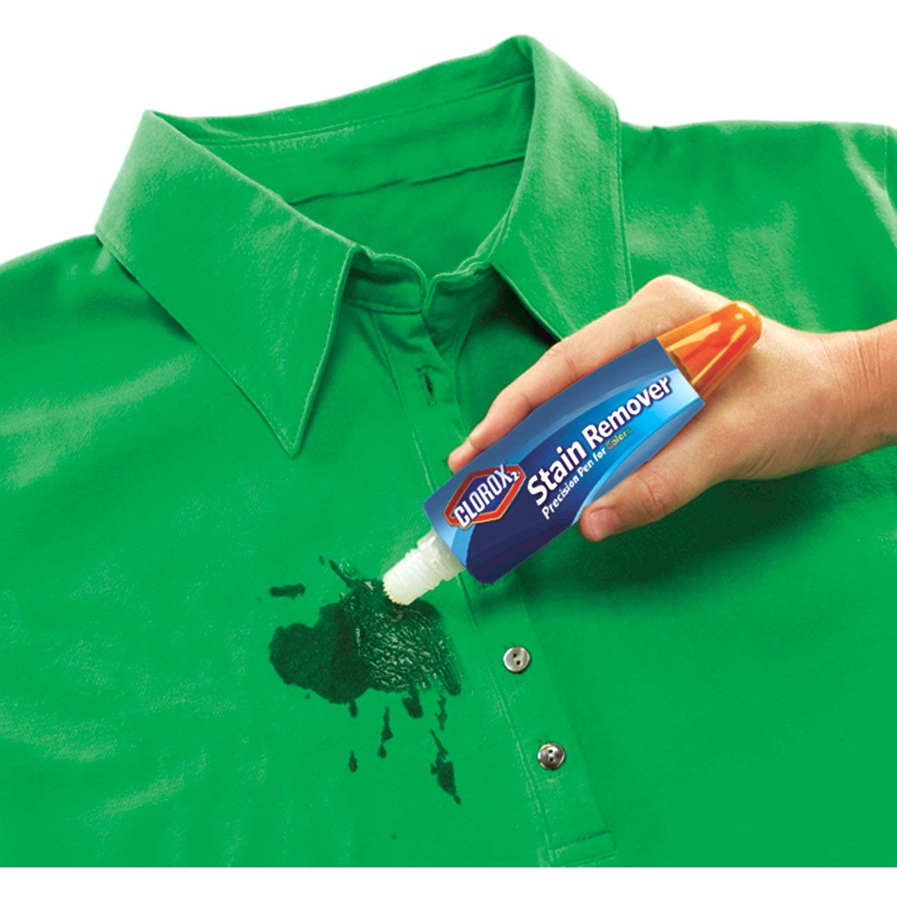 Clorox Laundry Pens, 2 Bleach Pens and 2 Stain Fighter Pens for Colors, 4 Pens by Clorox (Image #4)
