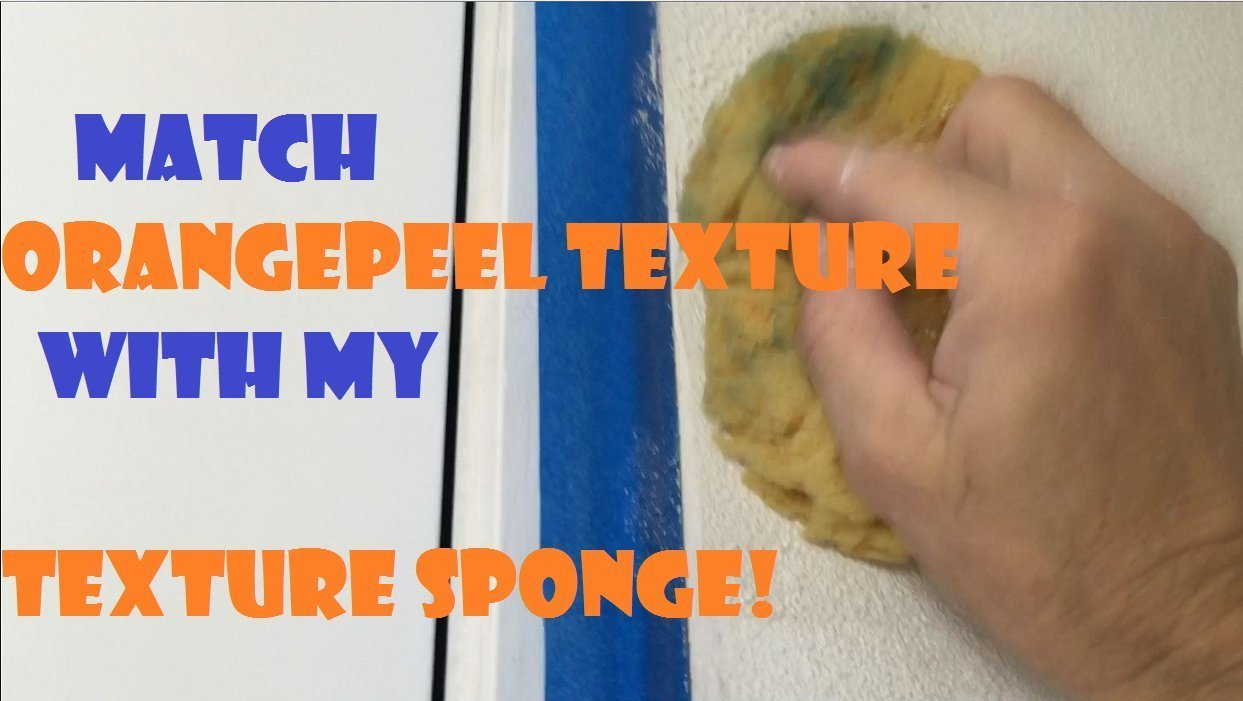 Orange Peel Texture Sponge DIY Drywall Repair Tool
