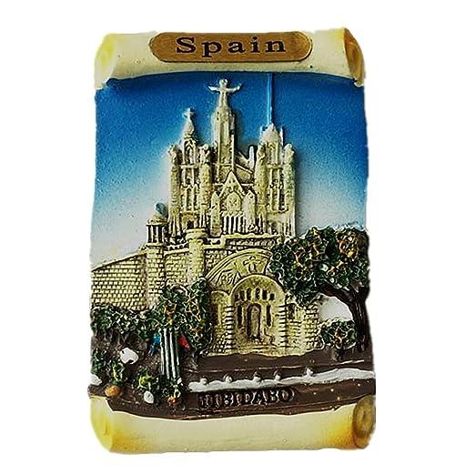 Templo del Sagrado Corazón, Montaña del Tibidabo, Barcelona España ...