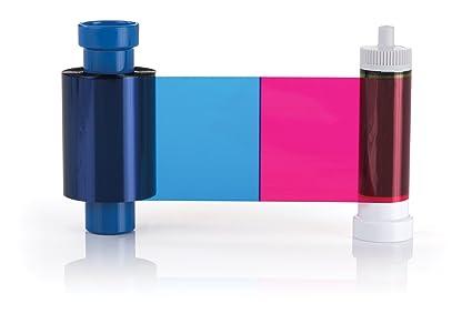 Cinta de impresión de Magicard para impresoras Rio Pro, Enduro y Pronto, de Color YMCKO, 300 Impresiones