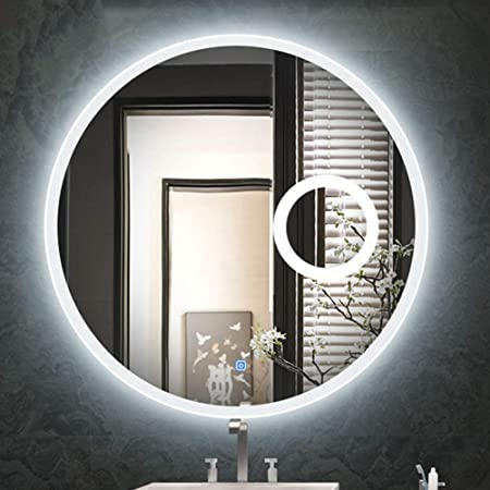 Bath Miroir Lumineux A Led Avec Miroir Grossissant Miroir De