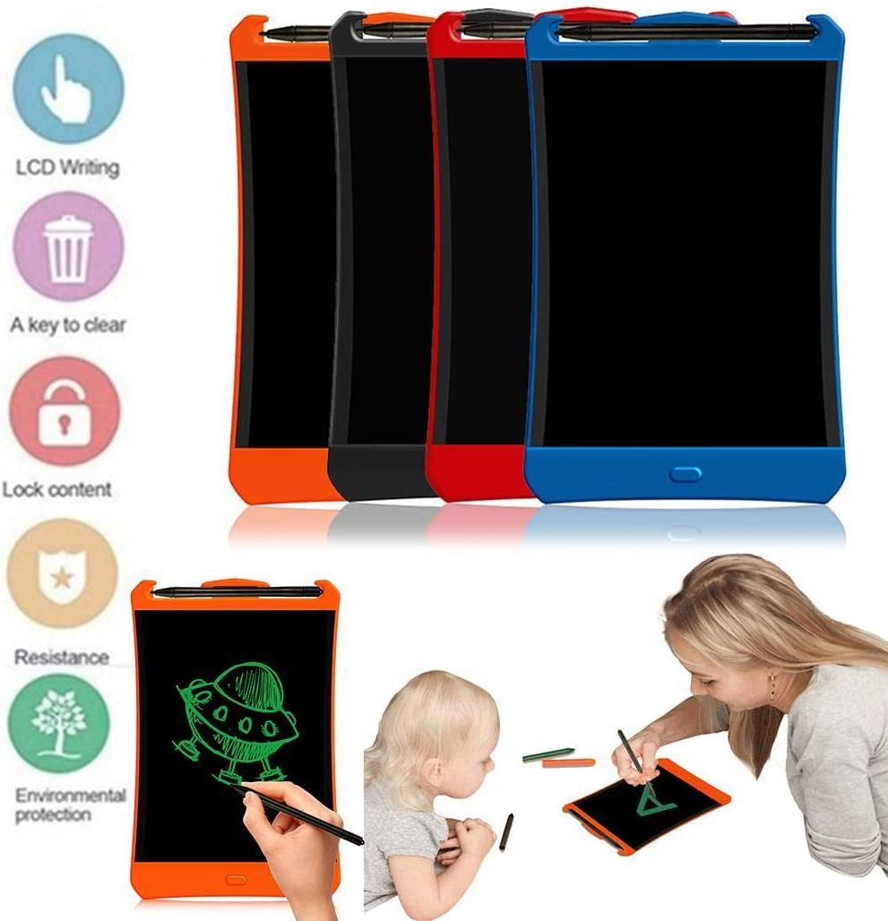 hevare LCD Childrens Light Energy Electronic Smart Writing Board Graphics Tablets