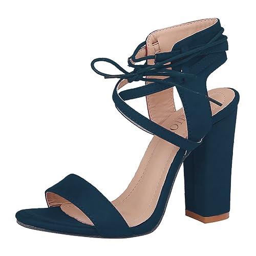 Zapatos negros Hibote para mujer z2FZnv