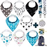 Baby Bandana Drool Bibs by Dodo Babies + 2 Pacifier - Best Reviews Guide