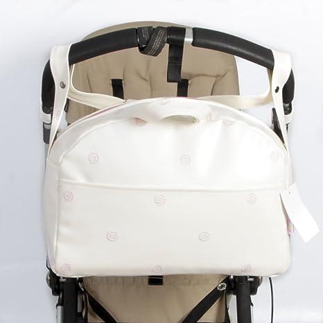 Danielstore - Bolso Carrito Universal- Bugaboo y Gemelar Lactancia Maternal Polipiel - .Color (