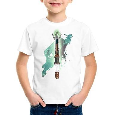 style3 Destornillador sónico Camiseta para Niños T-Shirt Who Dalek ...