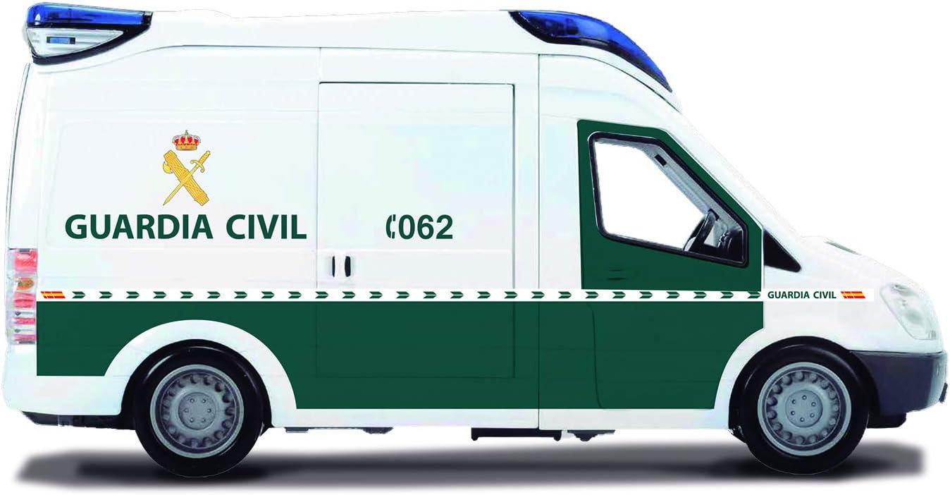Furgón de 34cm de la Guardia Civil con luz y sonido (Dickie 1156011)