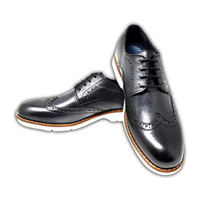 2ccc1bb0146959 Mr. Jog Men s Premium Casual Wingtip Dress Shoe