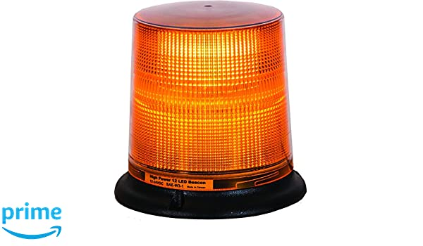 Buyers Products SL696A Amber 12 LED Permanent Mount Beacon Light