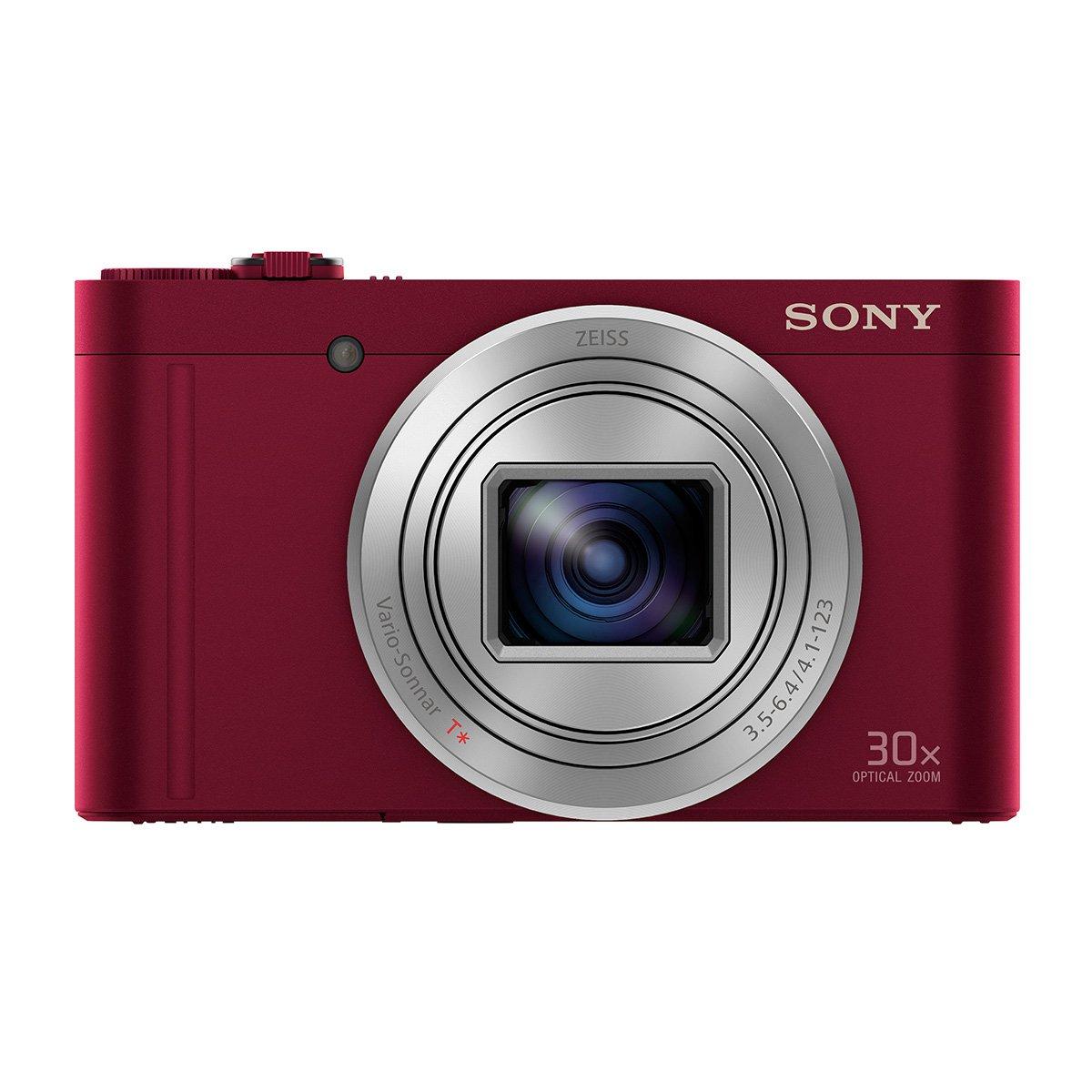 Sony Cybershot DSC-WX500/R 18.2MP Digital Camera (Red)