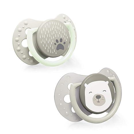 LOVI 2x Chupete Mini Silicona para Bebés de 0-2 meses | La ...