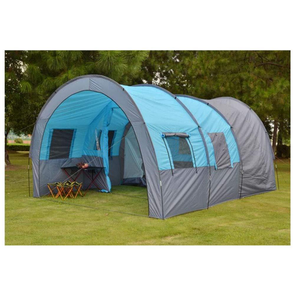 Anti-UV,SpaciousZelt, Outdoor 5-8 Personen One Room und One Living Room Zelte Wasserdichte Camping OverGrößed Family Zelte,1,480  310  210cm