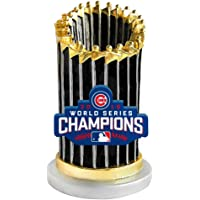 "Chicago Cubs 2016 World Series Paperweight Replica Trophy 3.5"" Figure MLB photo"
