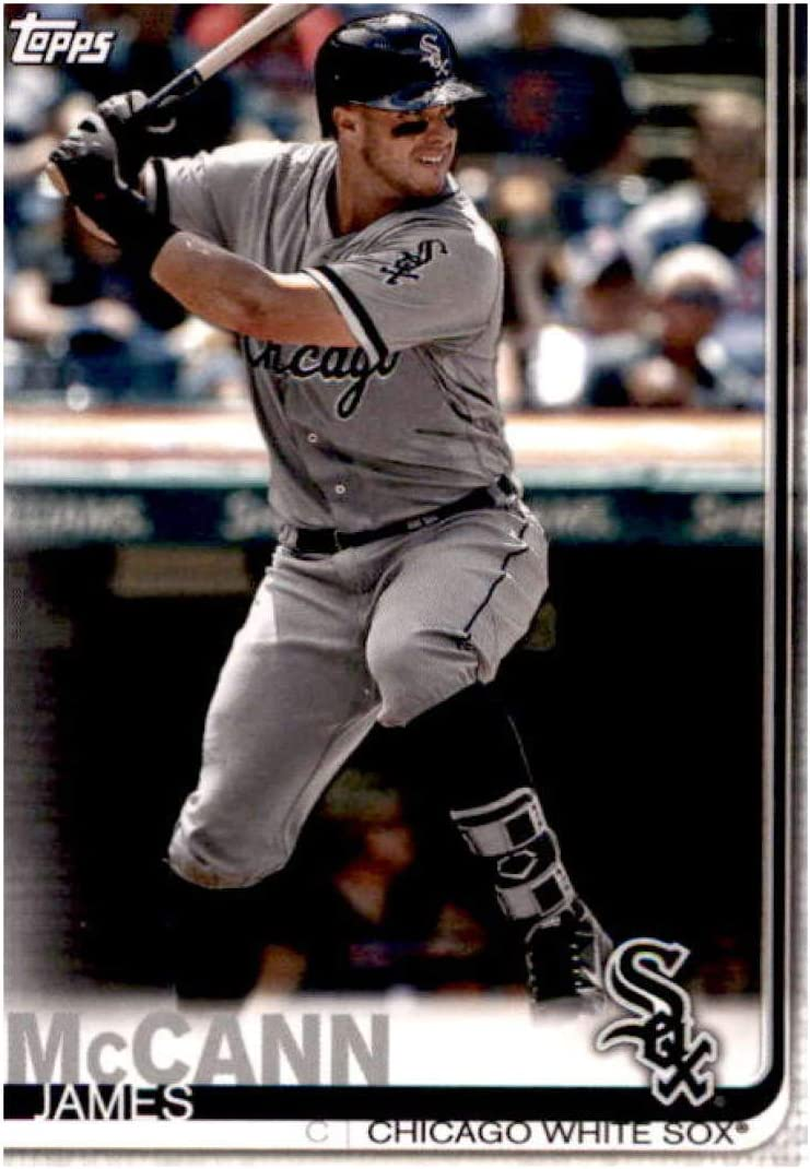 2019 Topps Team Edition Chicago White Sox #WS-4 James McCann Chicago White Sox Baseball Card